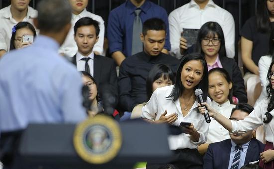 Suboi gọi cuộc đối thoại với tổng thống Obama là khoảnh khắc thay đổi cuộc sống