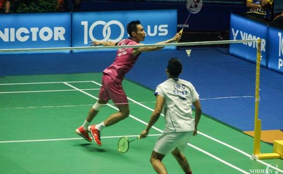Cầu lông: Lin Dan lần đầu vô địch Malaysia mở rộng