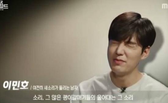 """Lee Min Ho nhăn mặt khi nhớ lại cảnh bị chim """"bĩnh"""" lên người"""