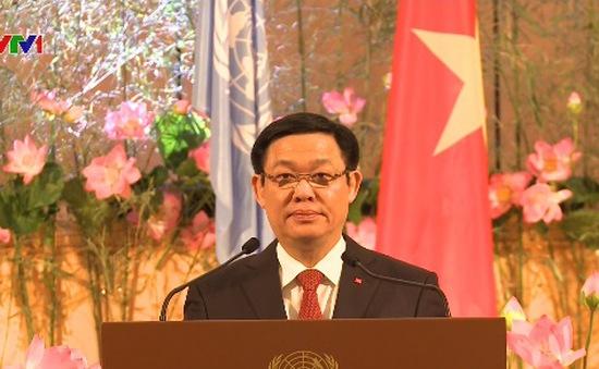 PTT Vương Đình Huệ dự Lễ kỷ niệm 40 năm Việt Nam gia nhập Liên Hợp Quốc