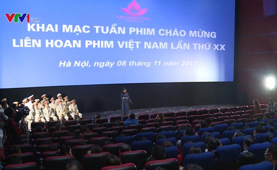 Khai mạc Tuần phim chào mừng Liên hoan phim Việt Nam lần thứ 20