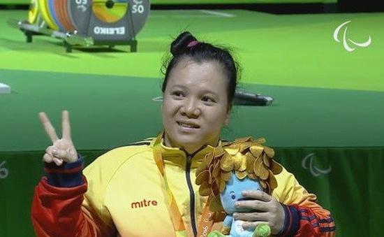 Đặng Thị Linh Phượng giành HCB cử tạ người khuyết tật thế giới