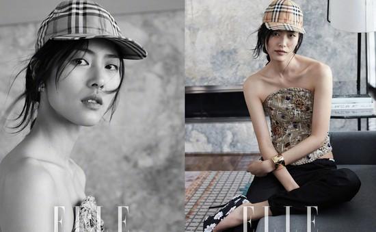Lưu Văn - Cá tính trên Elle