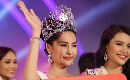Người đẹp Lê Âu Ngân Anh đăng quang Hoa hậu Đại Dương Việt Nam 2017