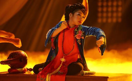Gương mặt thân quen nhí: Ngọc Giàu khiến khán giả sởn da gà khi hóa diva Hồng Nhung