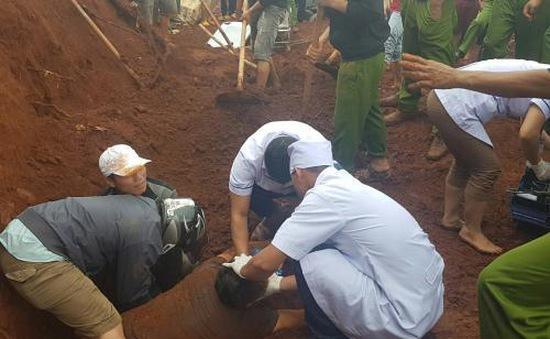 Tai nạn lao động làm 1 người bị đất chôn vùi ở Đăk Nông