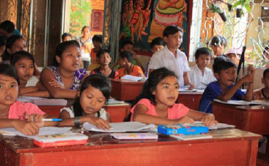 Những lớp học đặc biệt ở vùng biên giới Kiên Giang