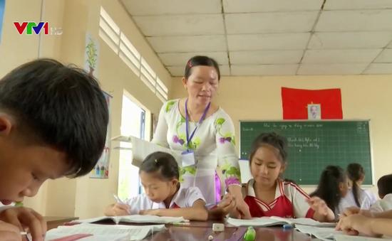 """Lớp học """"3 trong 1"""" ở vùng biên giới Kiên Giang"""