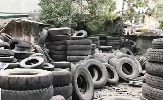 Bí mật từ các điểm thu gom mua bán vỏ lốp ô tô cũ