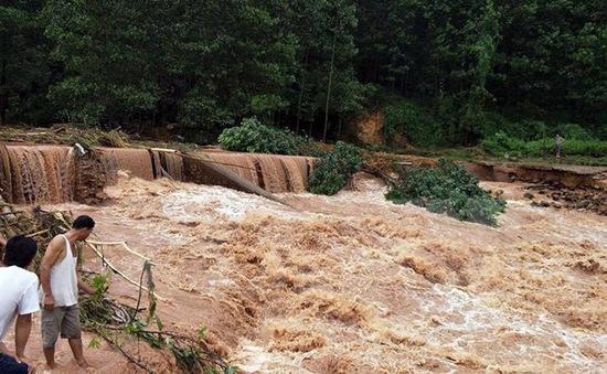 Thái Nguyên: 24 xã, thị trấn bị chia cắt với bên ngoài bởi mưa lũ