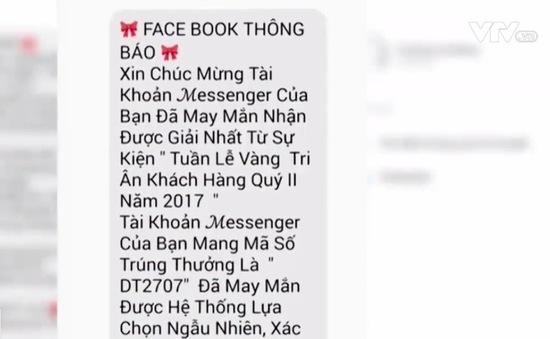 Cảnh báo trúng thưởng xe SH, iPhone giả trên Facebook