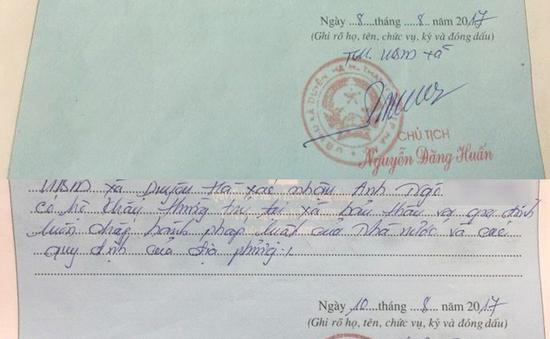 UBND cấp xã chỉ được xác nhận chữ ký sơ yếu lý lịch cho sinh viên