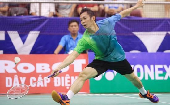 Tiến Minh gác vợt tại vòng ba Việt Nam Mở rộng 2017