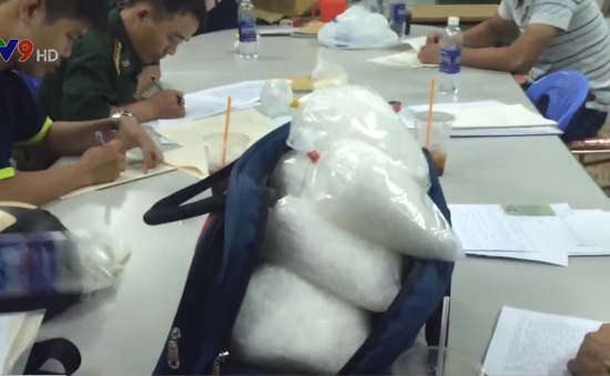 Bắt giữ hơn 10kg ma túy từ đường dây xuyên quốc gia