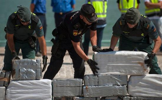 Tây Ban Nha bắt giữ lượng ma túy lớn nhất trong 18 năm