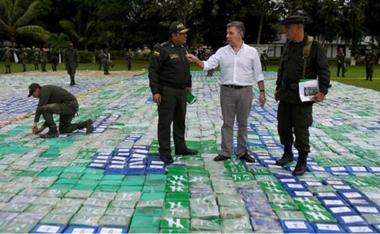 Colombia thu giữ lượng ma túy lớn nhất lịch sử
