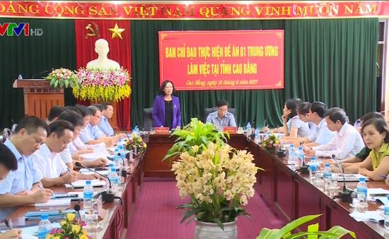 Chủ động triển khai, nhân rộng các mô hình sản xuất kinh doanh giỏi tại Cao Bằng