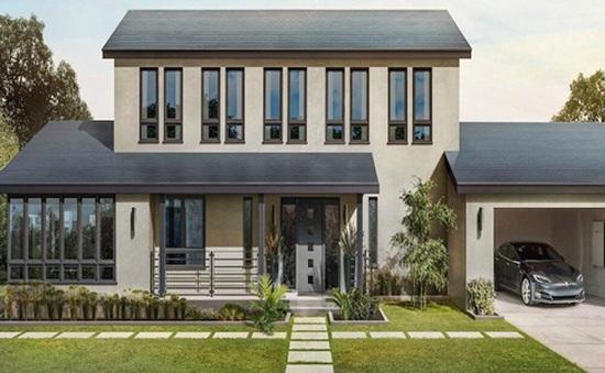 Mái nhà năng lượng mặt trời của Tesla rẻ hơn mái nhà thông thường