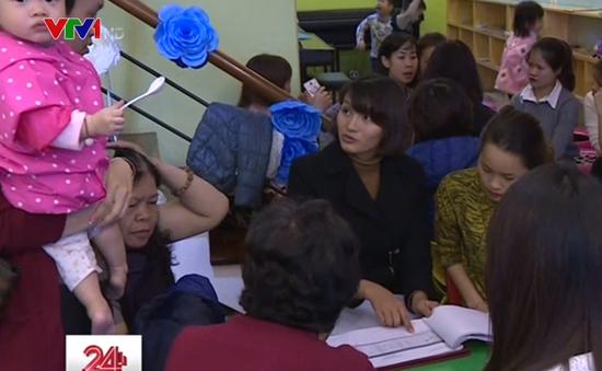 Trường mầm non Sen Vàng hoàn trả học phí cho phụ huynh
