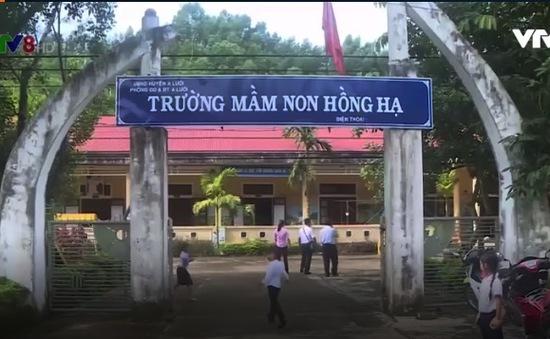 Tăng cường cơ sở vật chất cho giáo dục vùng cao tỉnh TT-Huế