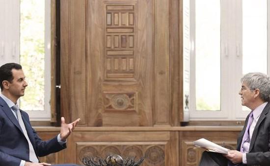 Yahoo công bố nội dung phỏng vấn độc quyền Tổng thống Syria