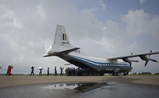 Phát hiện nhiều mảnh vỡ của máy bay quân sự Myanmar mất tích