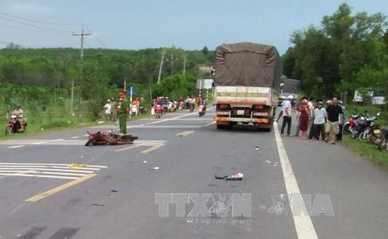 Bình Phước: 2 vụ tai nạn giao thông liên tiếp, 6 người thương vong