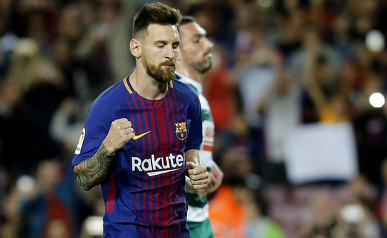Barca chi tiền lót tay kỷ lục níu chân Messi tới năm 2021