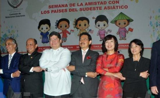 Khai mạc Tuần Văn hóa kỷ niệm 50 năm ASEAN tại Mexico