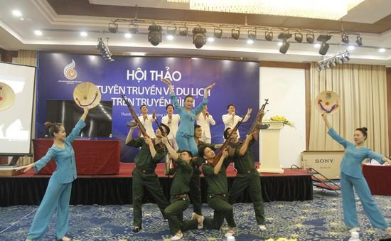 Toàn cảnh Hội thảo Tuyên truyền về du lịch trên truyền hình