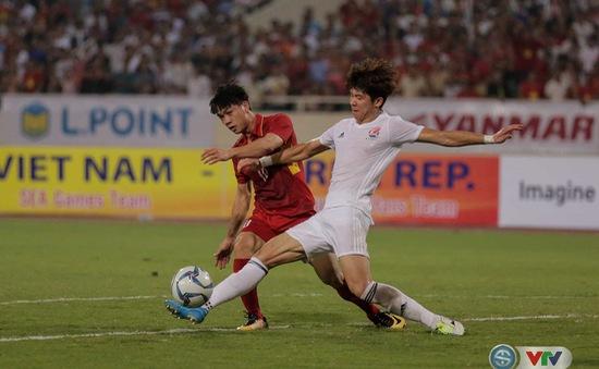 ẢNH: Những khoảnh khắc trong trận giao hữu U22 Việt Nam – Tuyển các Ngôi sao K-League