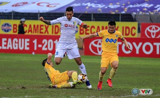 Nhìn lại trận đấu kịch tính giữa CLB Hà Nội và FLC Thanh Hoá ở lượt đi V.League 2017