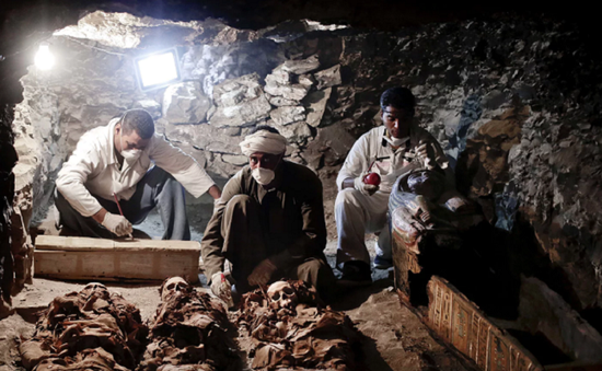 Phát hiện hầm mộ Pharaoh 4.300 năm tuổi tại Ai Cập