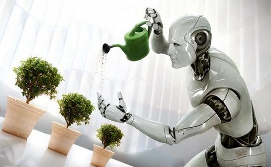 Robot dần thay thế công nhân tại châu Âu?