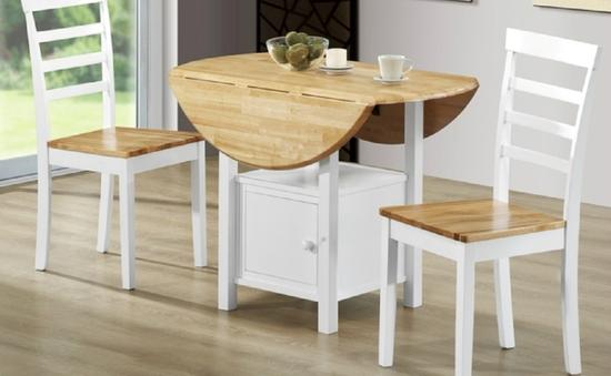 Ý tưởng đưa những bộ bàn ăn độc đáo vào không gian nhỏ hẹp