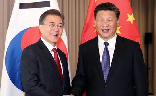 Tổng thống Hàn Quốc lần đầu thăm Trung Quốc