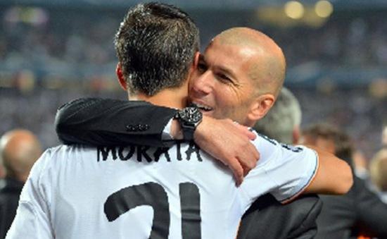Real Madrid hết tiền đạo, HLV Zidane nhớ Morata