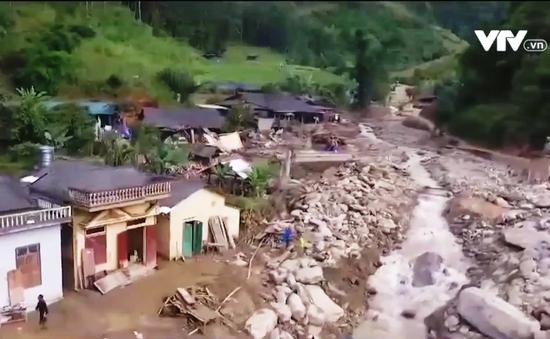 Khắc phục thiệt hại do mưa lũ ở Yên Bái