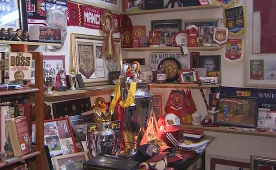 Bộ sưu tập kỉ vật CLB Manchester United tại Việt Nam