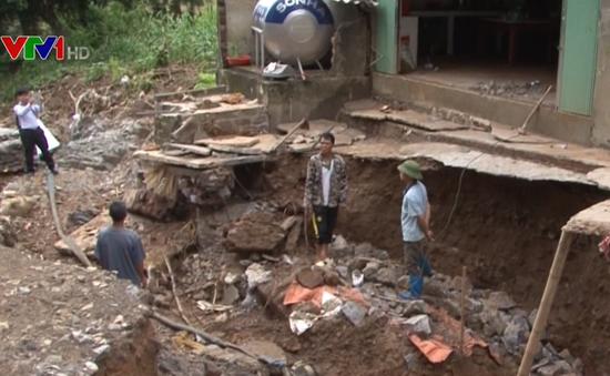 104 người thiệt mạng và mất tích do mưa lũ ở miền Bắc và Bắc Trung Bộ