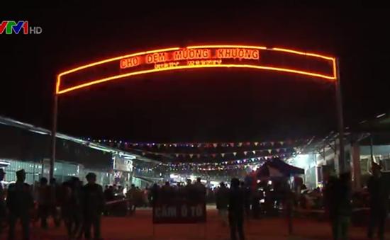 Khai trương chợ đêm Mường Khương - Lào Cai