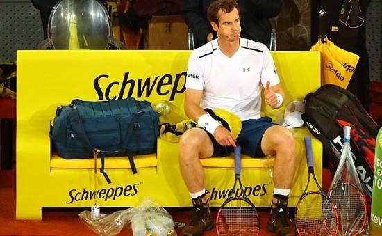 Vòng 3 Madrid mở rộng 2017: Andy Murray gây thất vọng