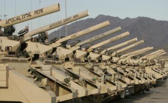 Mỹ lại thống trị thị trường vũ khí toàn cầu