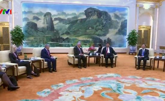 Ngoại trưởng Mỹ Tillerson gặp Chủ tịch Trung Quốc Tập Cận Bình