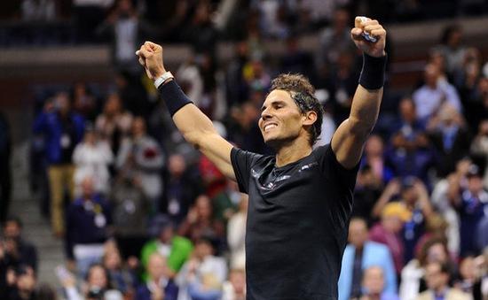 Ngược dòng ấn tượng, Rafael Nadal giành quyền vào chung kết Mỹ mở rộng 2017