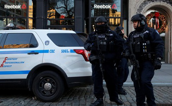 Mỹ thắt chặt an ninh ở New York sau vụ khủng bố