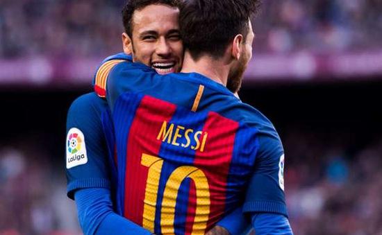 Neymar đã ngang trình độ với Messi