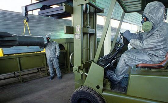 Nga hoàn tất chương trình giải trừ vũ khí hóa học trước kế hoạch