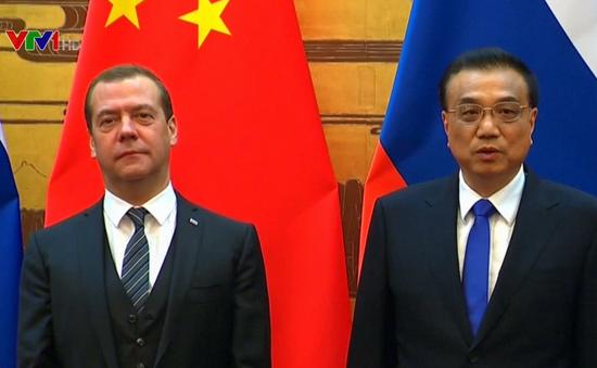 Nga - Trung Quốc cam kết tăng cường quan hệ