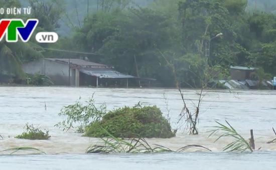 Nam Trung Bộ: Hơn 30.000 hộ dân bị ngập lụt và thiếu đói